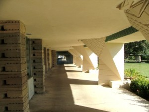 Florida Southern College, Esplanades 2