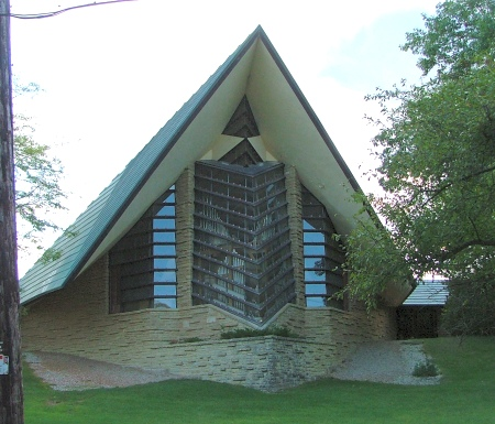 Unitarian Meeting House (1947), Shorewood Hills, Wisconsin